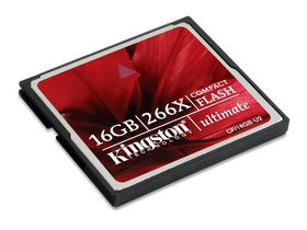 Card Kingston Compact Flash  16GB Ultimate 266x