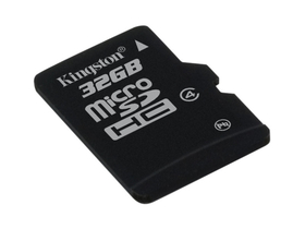Kingston microSDHC kártya 32GB Class4