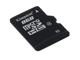 Kingston microSDHC karta 8GB Class4