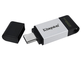 Kingston 256GB USB3.2 C DataTraveler 80 (DT80/256GB) Flash Drive