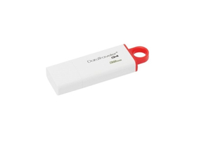 Pendrive Kingston DataTraveler Generation 4 (DTIG4) 32GB USB3.0, roşu-alb