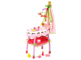 Klein Toys Princess Coralie Cradle Bathtub and Changing Mat (KL-1690)