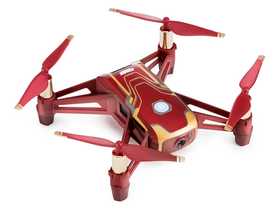 Drona de jucarie inteligenta DJI Tello Iron Man Edition
