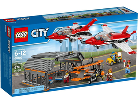 LEGO ® City Parada de aviatie pe aeroport  60103