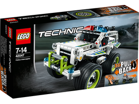 LEGO Technic 42047 Policajný jeep - Interceptor