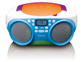 Lenco SCD-41 přenosné rádio CD, MP3, USB