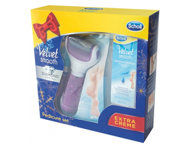 Scholl Velvet Smooth Diamond Crystal set