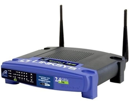 Linksys WRT54GL Wireless router 4 port