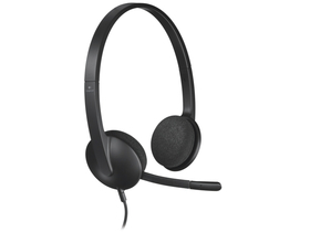 Logitech Headset H340 USB mikrofonos fejhallgató (981-000475) f1c6233055