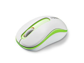 Mouse wireless Rapoo M10, verde alb