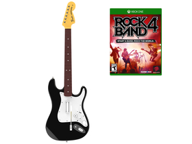 Mad Catz Rock Band 4 Band Wireless Fender™ Stratocaster™ Xbox One bundle, negru