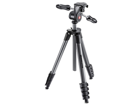 Manfrotto Compact Advanced stativ,černý