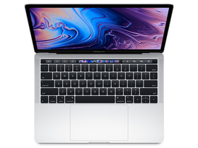 "Apple MacBookPro MXK62MG/A 13"" Touch, QC i5, 1.4GHz, 256GB, ezüst"