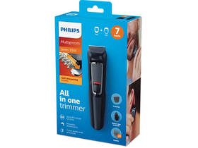 Aparat de tuns Philips MG3720/15 Multigroom series 3000 7in1