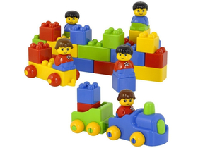 Miniland Color Bricks Kufor srtavebnice sada (ML-94108)