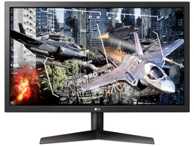 "LG 24GL600F-B 24"" FullHD 144Hz FreeSync gamer LED monitor"