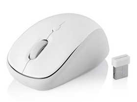 Mouse notebook ModeCom WM6 - (alb; senzor optic 800-1600DPI; USB)