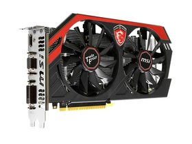 MSI N750Ti TF 2GD5/OC Gaming 2GB