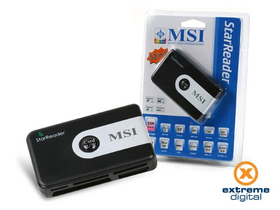 Card reader MSI StarReader 52in1 + SIM