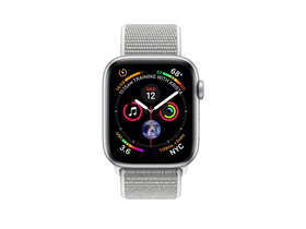 Apple Watch Series 4 GPS, 40mm  srebrn aluminijasti kovček s športnim trakom