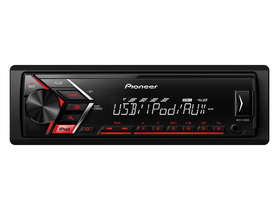 Player auto Pioneer MVH-S100UI USB/AUX/iPhone, rosu