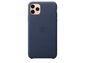 Apple iPhone 11 Pro Max usnjen ovitek, moder (mx0g2zm/a)