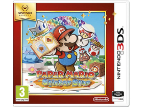 Paper Mario: Sticker Star Select 3DS játék