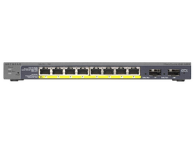 Netgear GS110TP-200EUS ProSafe Smart 10 port gigabit switch (8xPoE, 2xSFP, metalno kučište)
