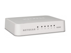 Switch Netgear GS205-100PES 5 портов Gigabite
