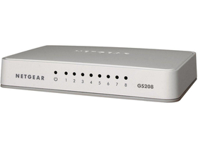 Netgear GS208-100PES 8 x 10/100/1000 Switch