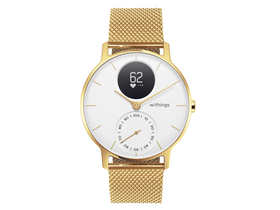 Withings Steel HR Limited Edition (36mm) pametni sat, zlatni-bijeli