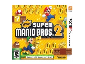 New Super Mario Bros. 2 3DS játék