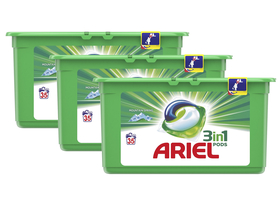 Ariel Mountain Spring 3in1 kapsule na pranie, 3x35 ks