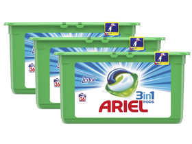 Ariel Touch of Lenor капсули за пране,  3x36 броя