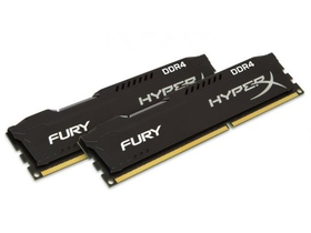 Kingston 8GB/2666MHz DDR-4 HyperX FURY crna (Kit 2db 4GB) (HX426C15FBK2/8) memorija