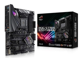 ASUS AM4 ROG STRIX B450-F GAMING AMD B450, ATX дънна платка