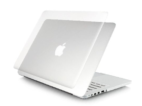 "Toc Ozaki O!macworm TightSuit 1.1mm MacBook Retina 15"", subțire și ușor, transparent"