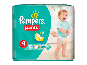 Scutece Pampers Pants  4 Maxi 24 buc.