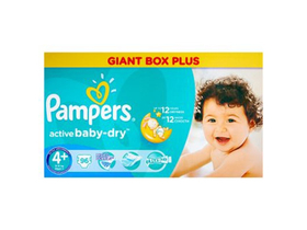 Scutece Pampers ActBaby Mega Box  4+ Maxi Plus 96 buc.