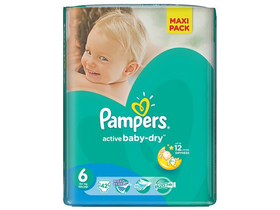 Scutece Pampers Active Baby-Dry  6 Extra Large 42