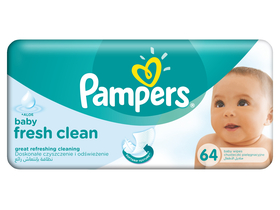 Pampers baby fresh utierky 64 ks