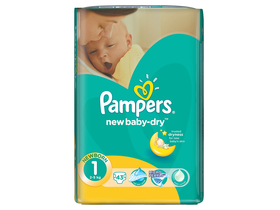 Scutece Pampers New Baby newborn 43 buc.