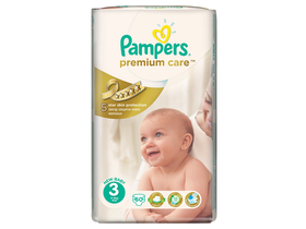 Scutece Pampers Premium Care 3 midi 60 buc.