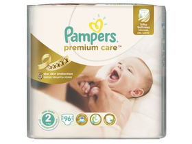 Scutece Pampers Premium Jumbo Pack  2 mini 96 buc.