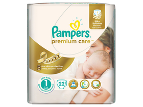 Pampers Premium Small Pack pelenka 1 new baby 22 db