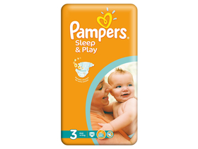 Pampers Sleep&Play pelenka 3 midi 58 db
