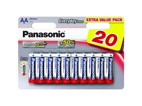 Panasonic Everyday Power LR6EPS-20BW AA батерии a 1.5V   (20бр.)
