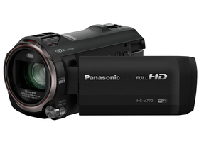 Cameră video Panasonic HC-v770, negru