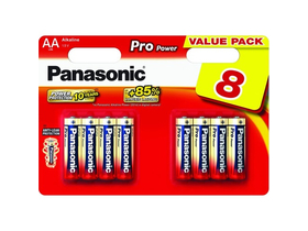 Panasonic Pro Power LR6PPG-8BW AA batéria (8ks)