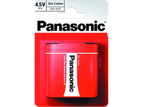 Panasonic Red Zinc 3R12R-1BP 4.5V цинк- манган батерия